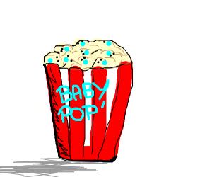Des bébés popcorn