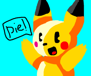pikachu wants pie