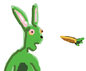 brocan the  bunny found a carrot