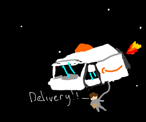 Amazon space delivery