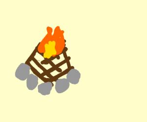 Primal bonfire
