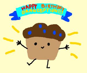 Trouble Muffin celebrates Drawception's B-Day
