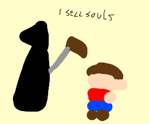 Death sells a child's soul