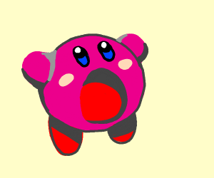Kirby Inhaling