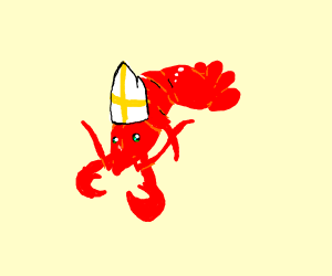 lobster pope
