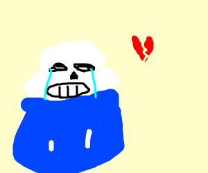 Sans just broke up