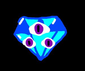 Diamond is not three eyes