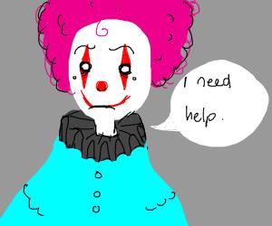 Clown needs help