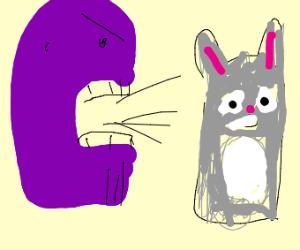 Thanos yells at chungus