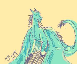 still chill ice dragon