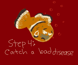 Step 3: Nemo Touched The Butt