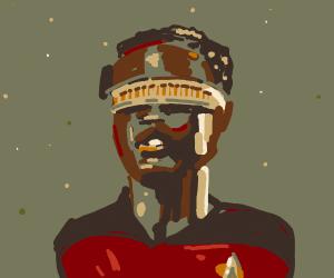 Geordi from Star Trek