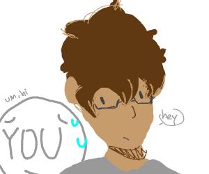 Adam ignoring your personal space