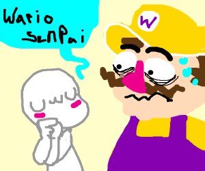 Wario wants you to give him some space