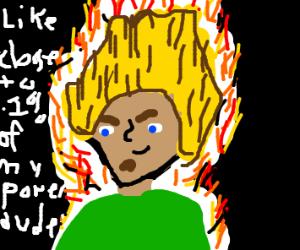 Legendary Super Saiyan Shaggy