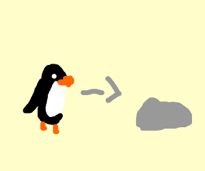 Penguins will evolve into rocks
