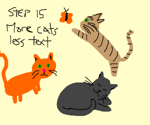 Step 14: Stop drawing just text