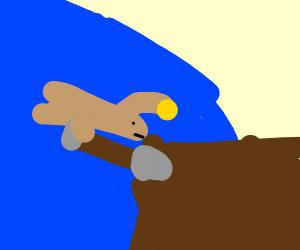 Anglerfish Digging