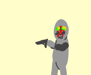 scp has gun