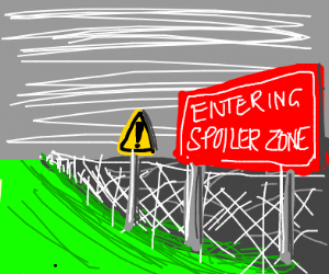 warning the spoiler zone.