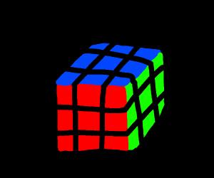 rubicks cube in the dark(solved)