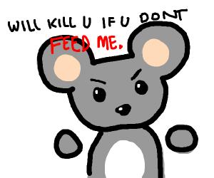 rat threatens you