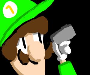 luigi got a gun