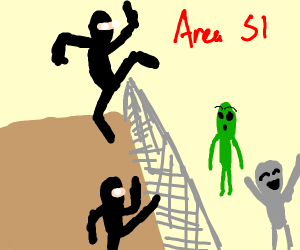 ninja raids area 51