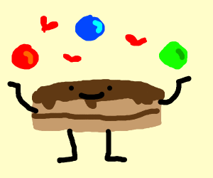 Cake Loves Juggling