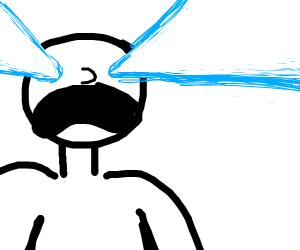I have lazer vision