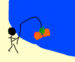 fishing for peaches