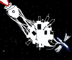 mine spaceship