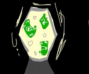 Cash in a Lava Lamp