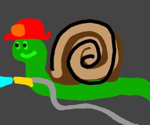 Snail Man fire-fighter