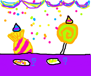 A sweet party.