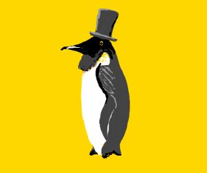 The first international penguin president