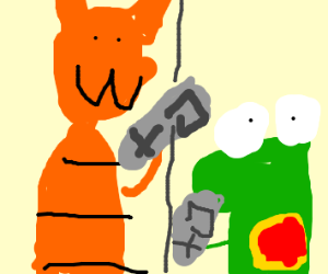 Garfield crank calls Yoshi