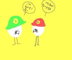Luigi thinks he's panel 11