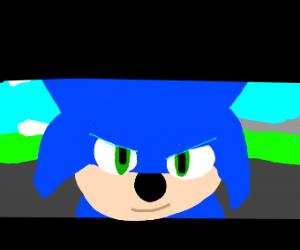 Sonic gotta go fast
