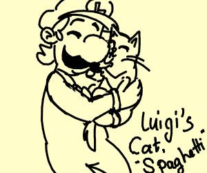 Luigi's cat, Spaghetti
