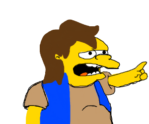 the bully on the simpsons