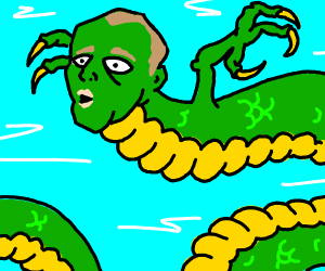 Oddly Human-Like dragon