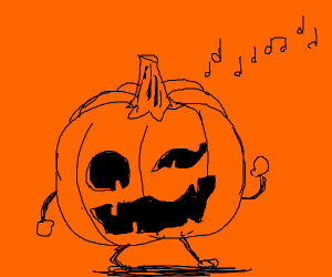 Ugly pumpkin dance