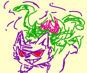 Ivysaur Gengar hybrid