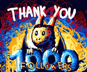 Happy 1K Followers!