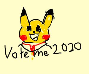 pikachu for prez 2020