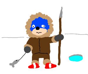 Sonic is an Eskimo