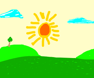sunny day :D