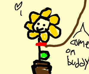 flower pet