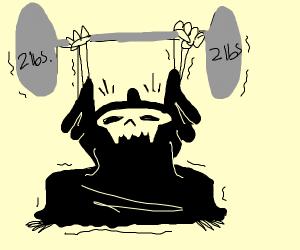 Grim Reaper Weightlifting